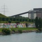 Nordsternpark mit Graffiti