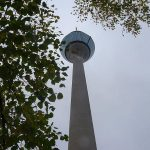 Der Rheinturm 240,5 m Gesamthöhe